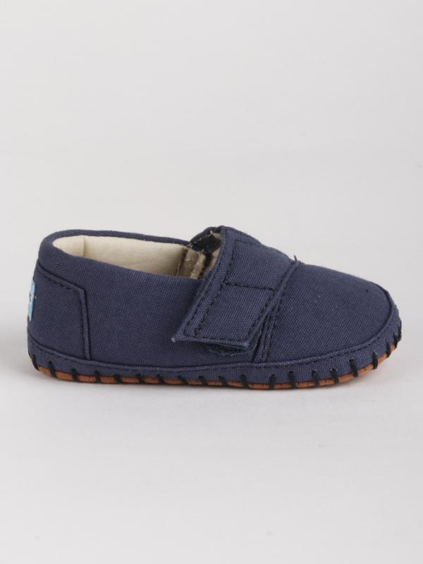 Boty Toms NAVY CANVAS TN CRIB ALPARGATA LAY Modrá