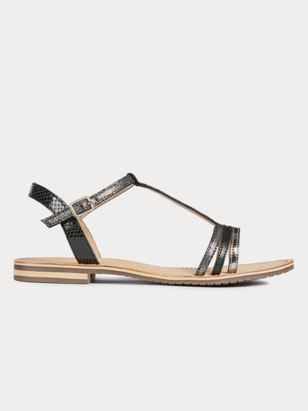 Sozy Sandále Geox Černá