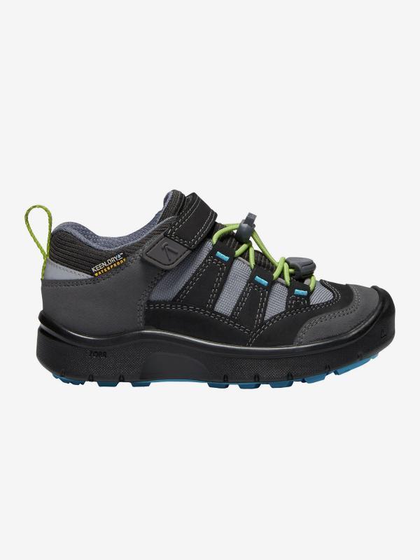 Boty Keen Hikeport Wp C-Magnet/Greenery Černá