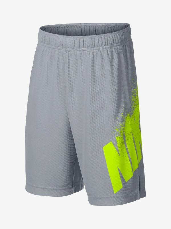 Šortky Nike B Dry Short Gfx Šedá