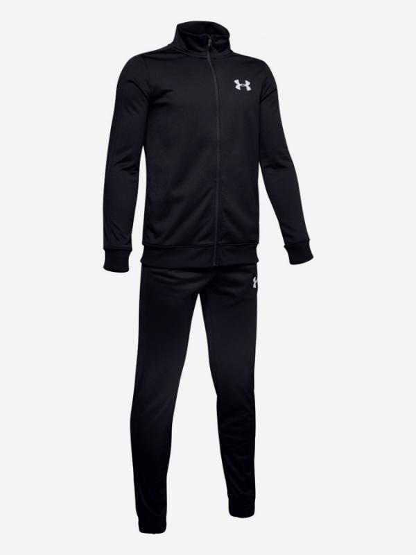 Souprava Under Armour Knit Track Suit-Blk Černá