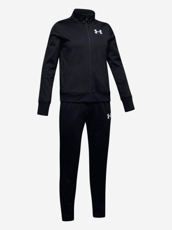 Souprava Under Armour Em Knit Track Suit-Blk Černá