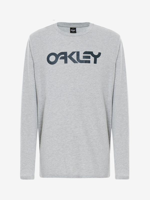 Tričko Oakley Mark Ii L/S Tee Granite Heather Šedá
