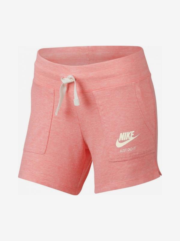 Šortky Nike G Nsw Vntg Short Yth Růžová