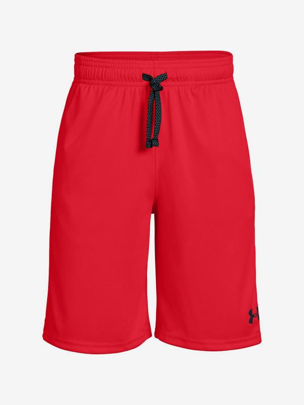 Kraťasy Under Armour Prototype Wordmark Shorts-Red Červená
