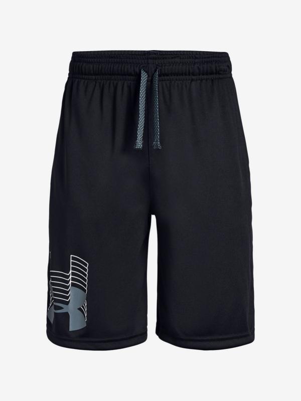 Kraťasy Under Armour Prototype Logo Shorts-Blk Černá