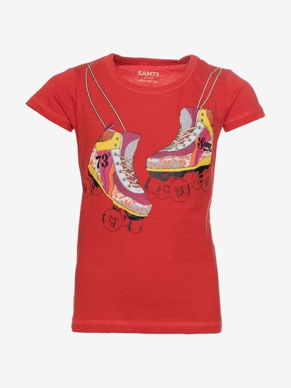 Tričko SAM 73 KTSP221475SM Červená