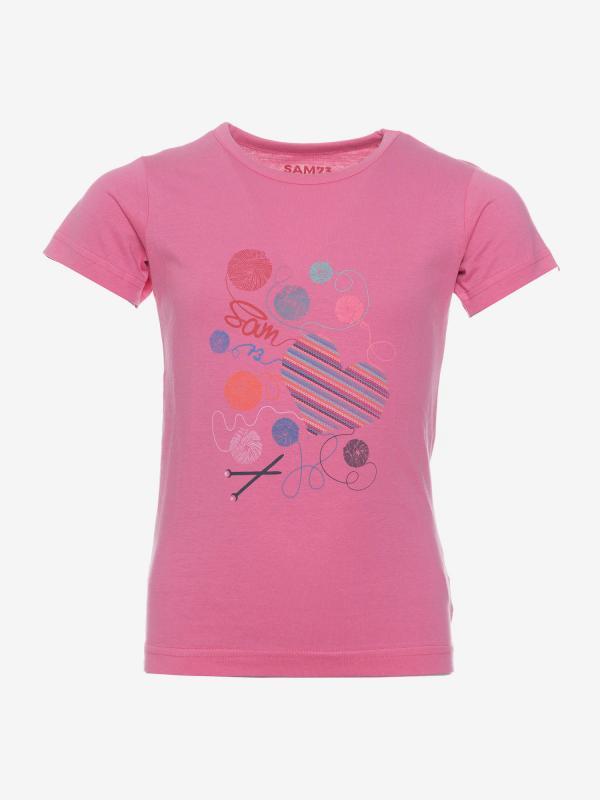 Tričko SAM 73 KTSP248407SM Růžová