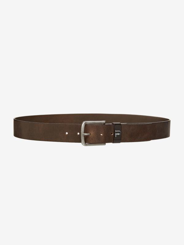 Pásek Trussardi T-Cube Vlv Belt Leather Černá
