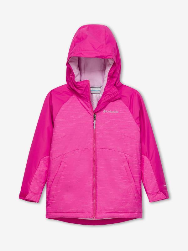 Bunda Columbia Alpine Action II Jacket Růžová