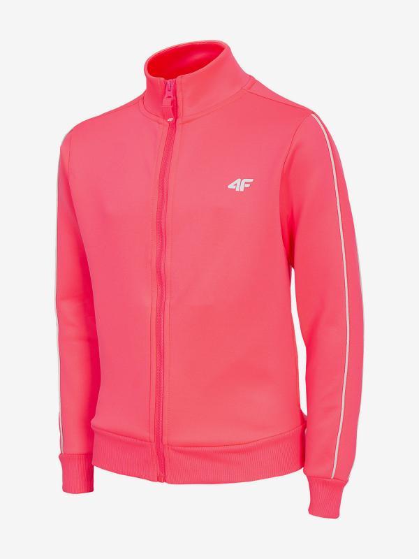 Mikina 4F Jbld214 Sweatshirt Růžová