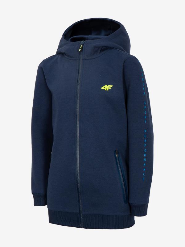Mikina 4F Jblm213 Sweatshirt Modrá