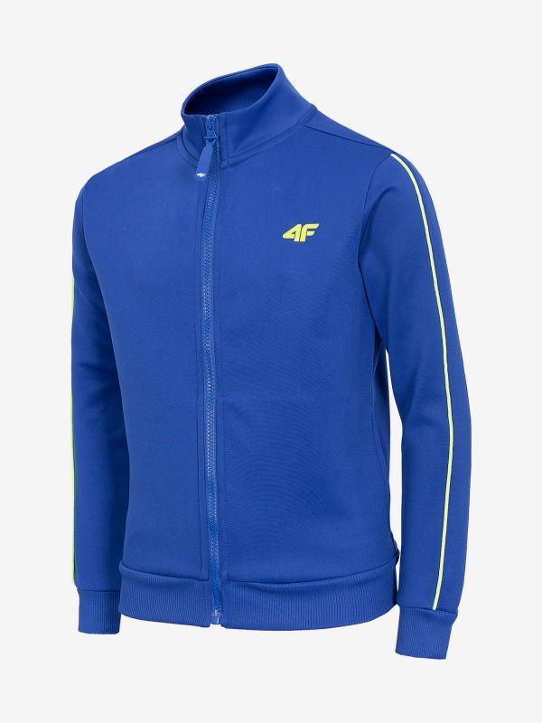 Mikina 4F Jblm214 Sweatshirt Modrá