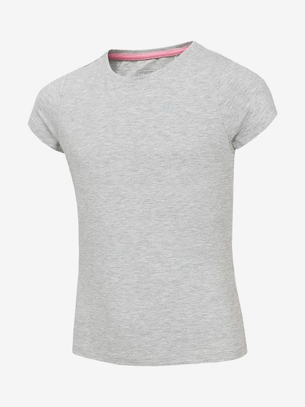 Tričko 4F Jtsd203 T-Shirt Šedá