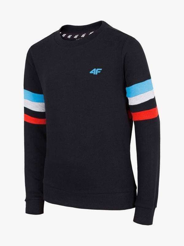 Mikina 4F Jblm203A Sweatshirt Černá