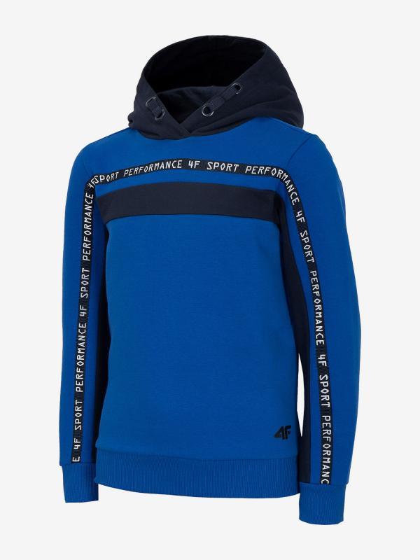 Mikina 4F Jblm211A Sweatshirt Modrá