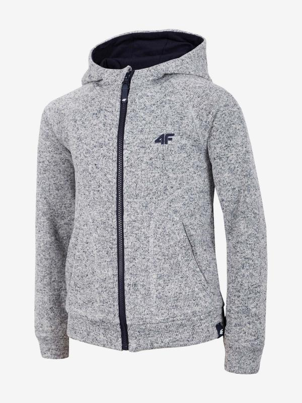 Bunda 4F Jplm202 Fleece Šedá
