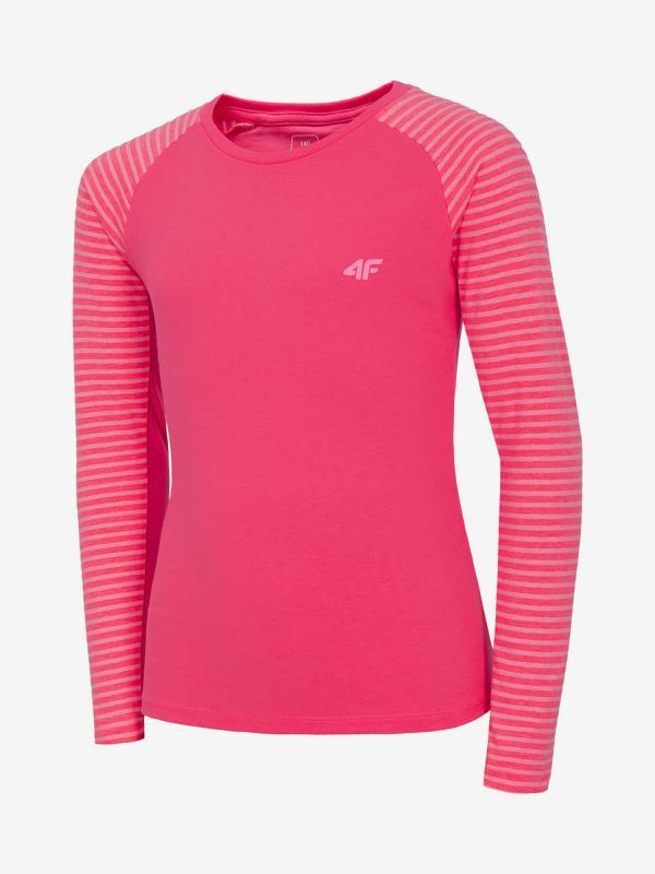 Tričko 4F Jtsdl206A Longsleeve Růžová