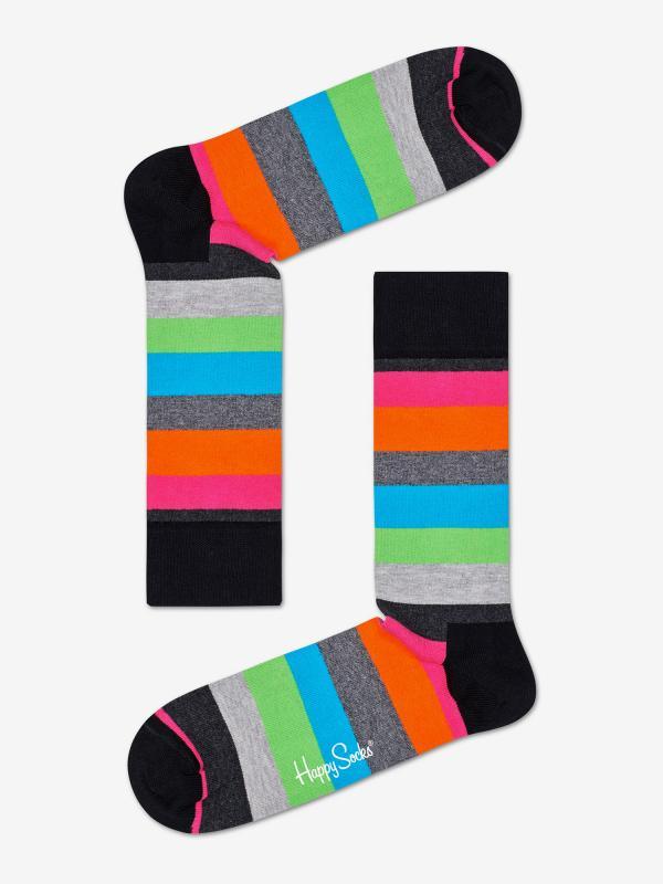 Ponožky Happy Socks Stripe Sock M-L (41-46) Barevná