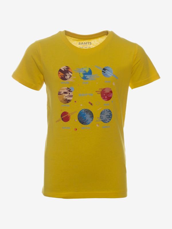 Tričko SAM 73 KTSP219205SM Žlutá