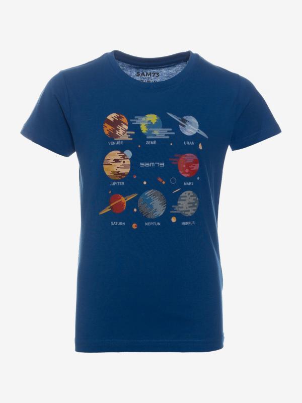 Tričko SAM 73 KTSP219682SM Modrá