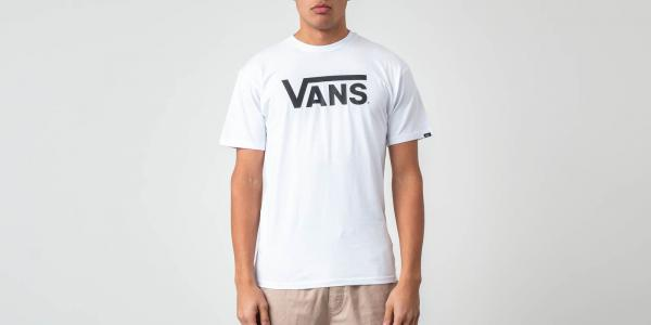 Vans Classic Tee White/ Black