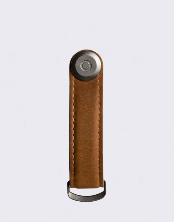 Orbitkey 2.0 Leather Crazy Horse Chestnut Brown