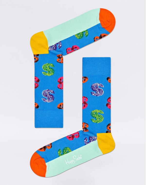 Happy Socks Andy Warhol Dollar AWDOL01-6500 41-46