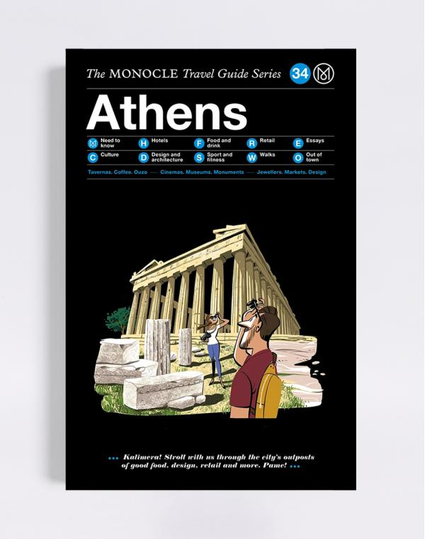 Gestalten Athens: The Monocle Travel Guide Series