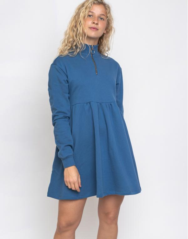 Lazy Oaf Blue Sally Sweater Dress Blue M