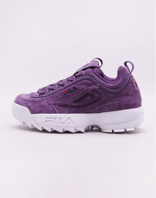 Fila Disruptor S Low Tillandsia Purple 36