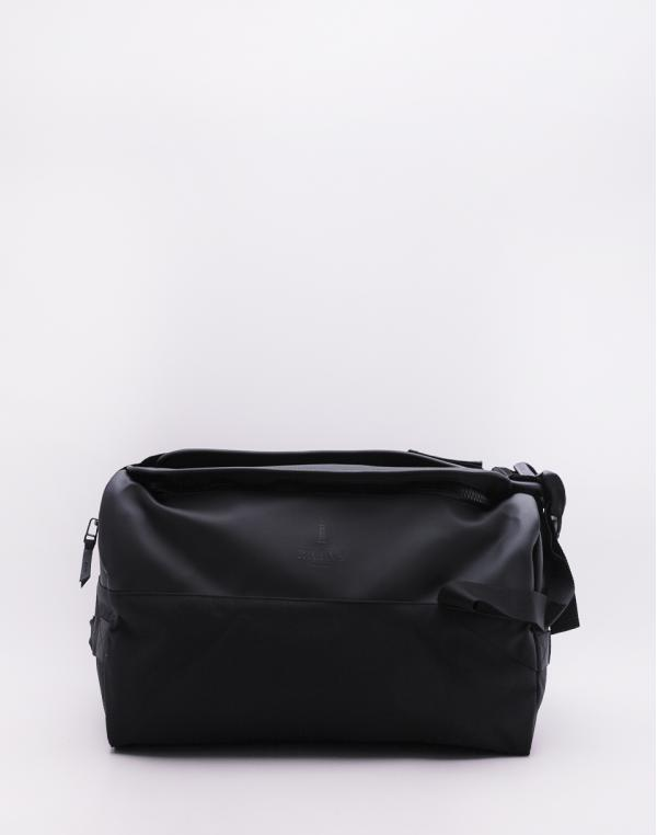 Rains Duffel Backpack 01 Black