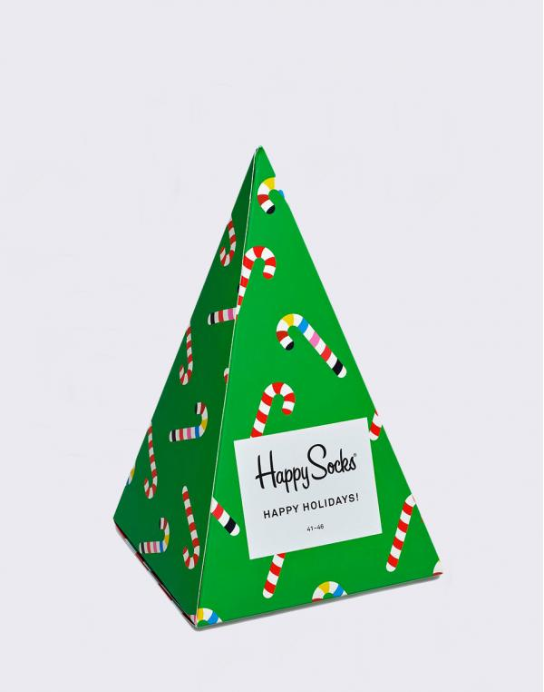 Happy Socks Holiday Tree Gift Box XMAS08-7004 36-40
