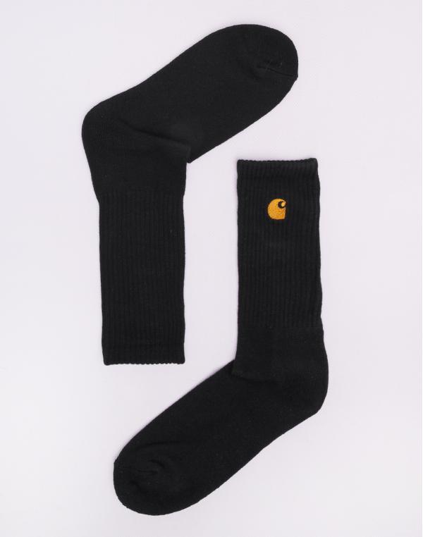 Carhartt WIP Chase Socks Black / Gold