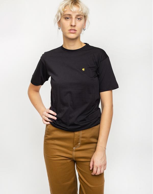 Carhartt WIP Chasy T-Shirt Black/Gold S