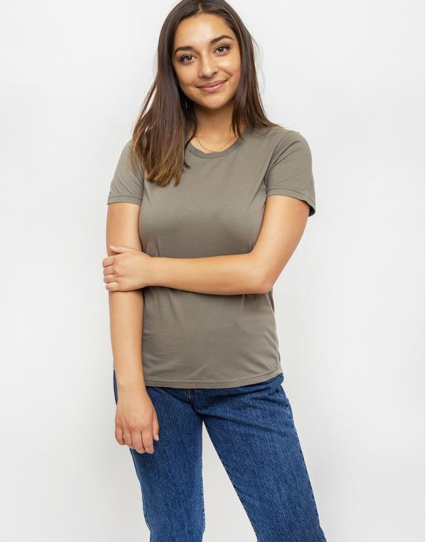 Colorful Standard Women Light Organic Tee Dusty Olive L