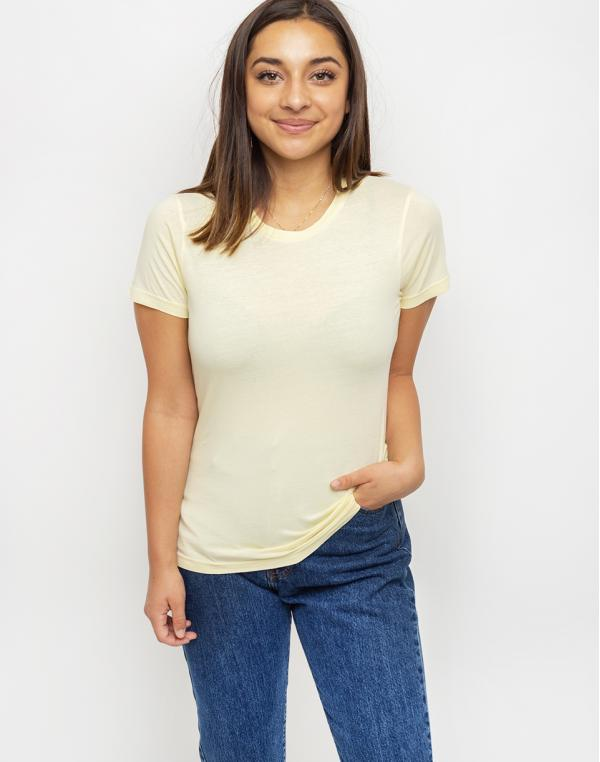 Colorful Standard Women Light Organic Tee Soft Yellow XS