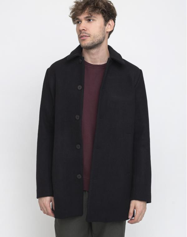 Makia Nord Coat Black S