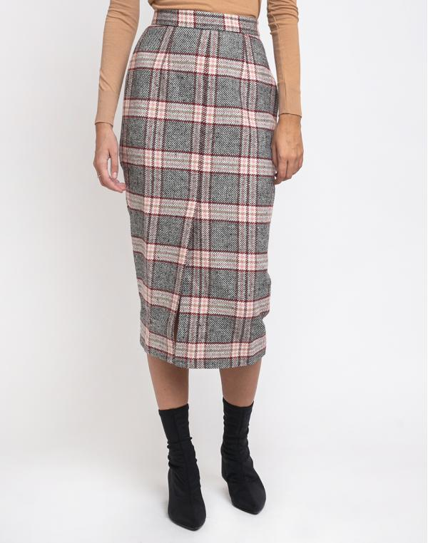 Edited Nova Skirt Pink/Schwarz/Beige 36