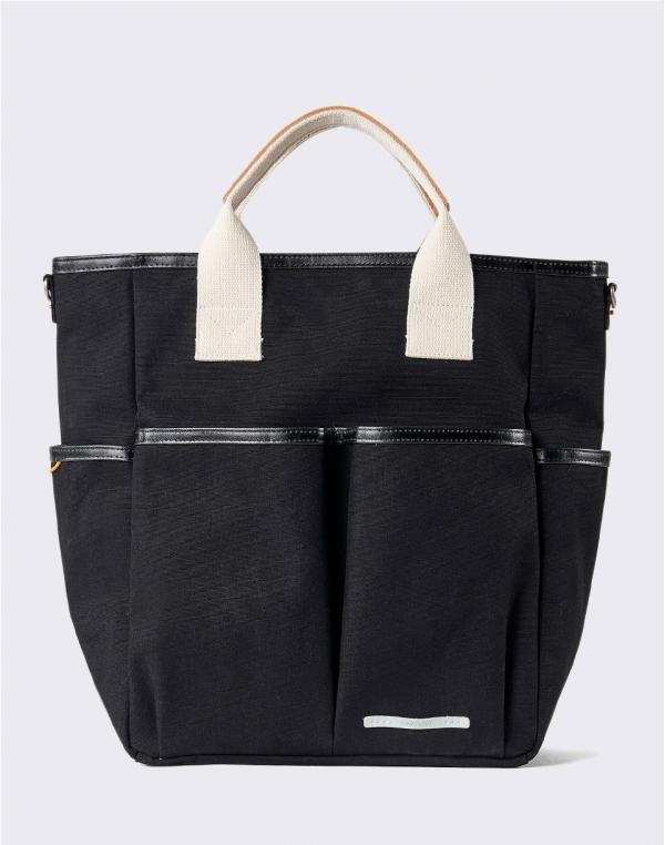 Rawrow Park Pack Tote 700 Canvas Black