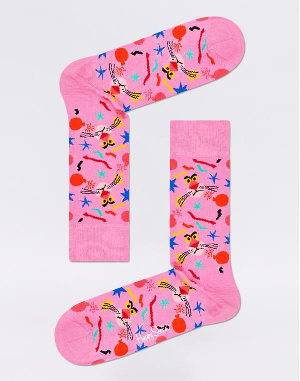 Happy Socks Pink Panther Bomb Voyage PAN01-3300 41-46