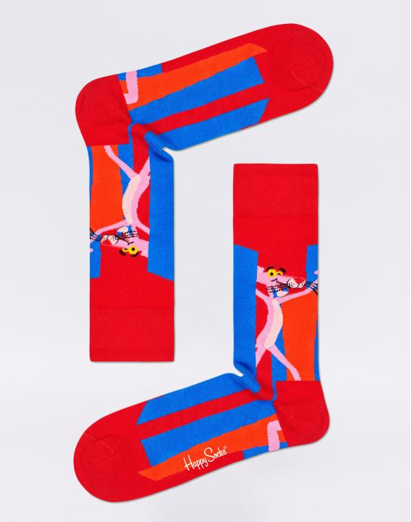 Happy Socks Pink Panther Smile Pretty, Say Pink PAN01-4300 41-46