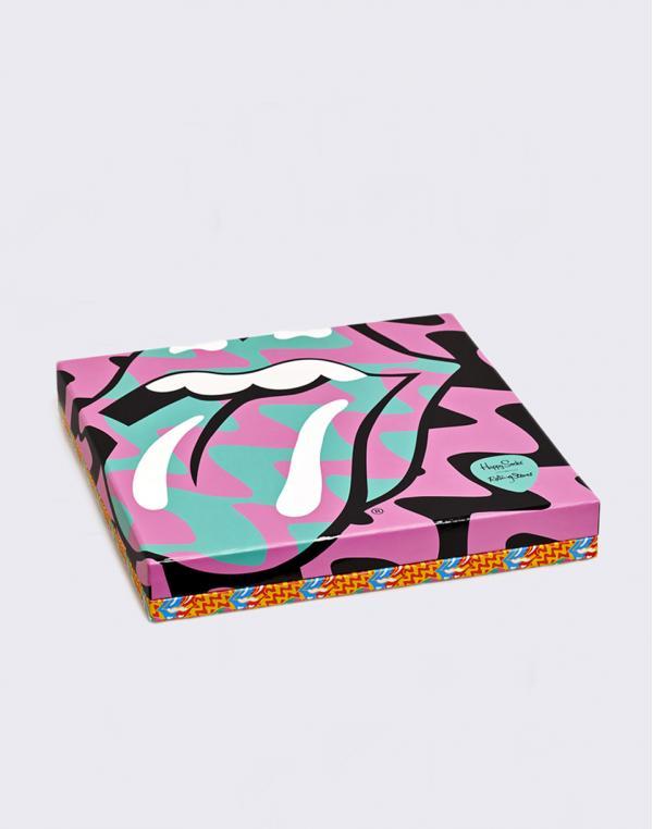 Happy Socks Rolling Stone 6-pack Gift Box XRLS10-3300 36-40