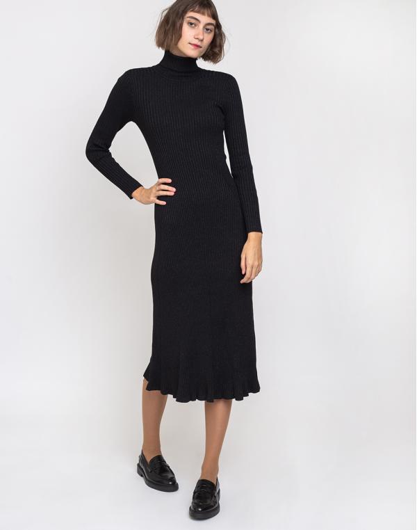 Edited Syrina Dress Schwarz 38