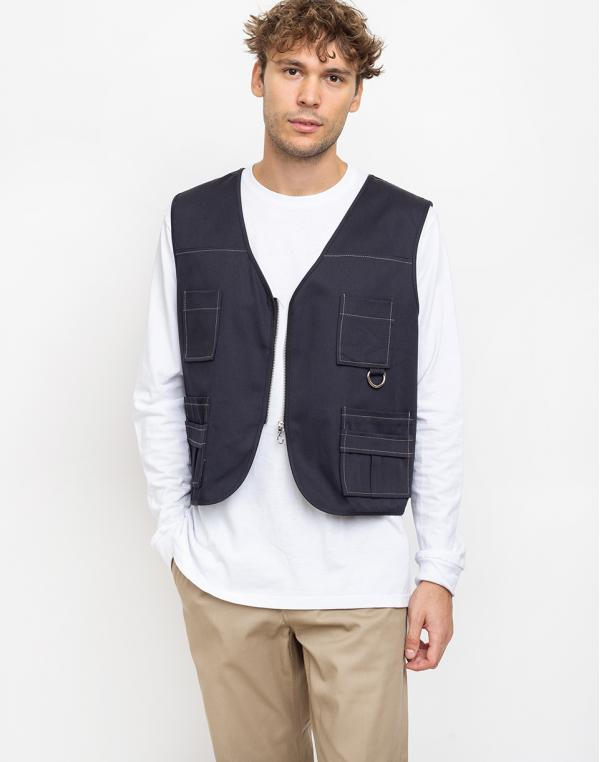 The Ragged Priest Utility Vest Black M