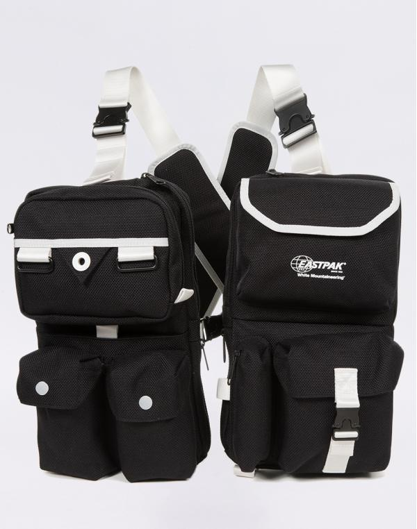 Eastpak White Mountaineering Vest Bag WM Dark