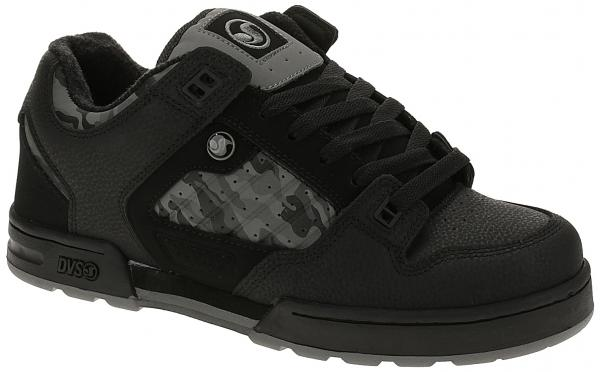 boty DVS Militia Snow - Black/Camo/Leather 45