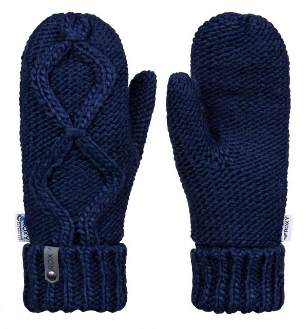 rukavice Roxy Winter Mittens - BTE0/Medieval Blue one size