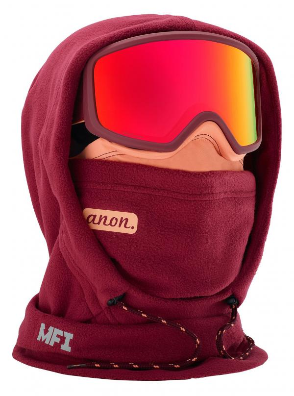 kukla Anon MFI XL Hood Clava - Purple one size