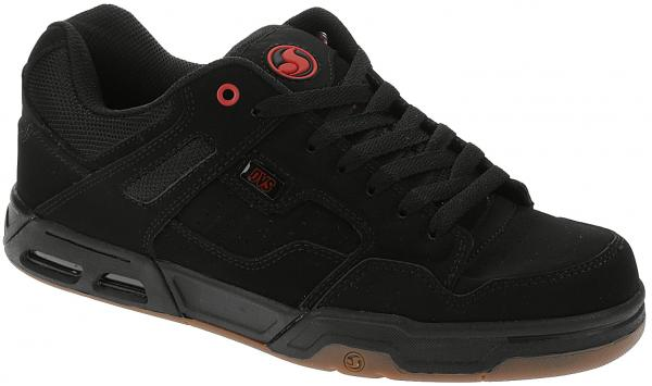 boty DVS Enduro Heir - Black/Red/Gum/Nubuck 45